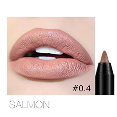 Professional Lipliner Makeup Waterproof Lip Liner Pencil 12 Colors by CSSD (Strawberry Lip Pencil)