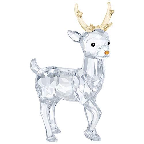 5400072 Swarovski Crystal Santa's Reindeer Decoration (Santas Reindeer)
