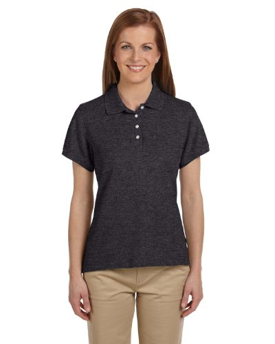 Chestnut Hill Women's Short Sleeve Performance Plus Pique Polo Shirt CH100W grey XX-Large