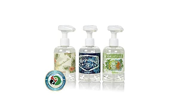 Amazon com : Margaritaville Set of 3 Musical Soap Pumps with 3 Jimmy