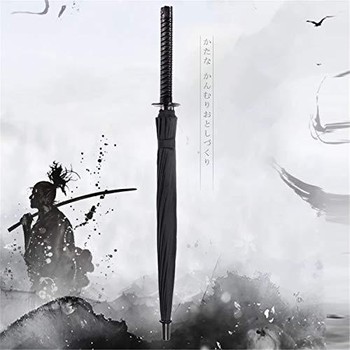 huyiko Samurai New Samurai - Paraguas Largo Ninja Katana japonés