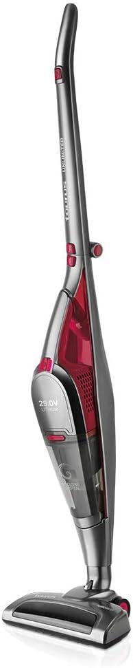 Taurus Unlimited 29 Lithium Escoba 3 en 1, Aspirador Vertical ciclónico, sin Cable, sin Bolsa, 29.6V, autonomía 55 min, batería de Litio, Mango Plegable, Papel