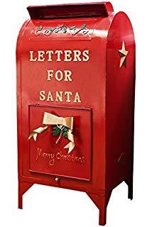 Amazon Com Letters For Santa Mailbox Holiday Decoration Set Of 2