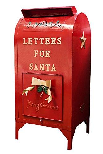 Home Comforts Laminated Poster Mailbox Letter Xmas Santa Mailbox Christmas Red Poster Print 24 x -