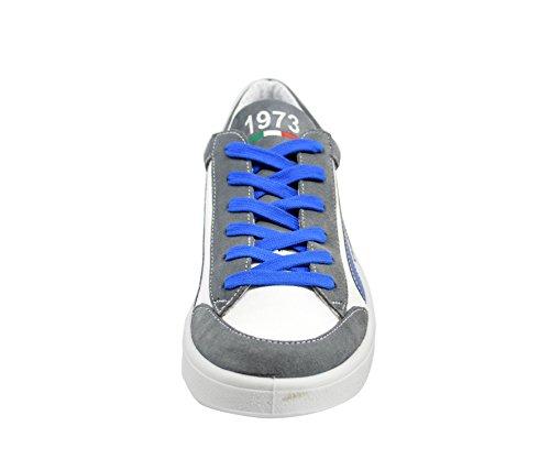 t Pour Et Mecap Femme Homme gris Sneakers Summer73 Blanc pRfqTg7