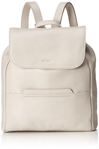 BREE Collection Faro 4, New Elephant, Backpack W15, Borsa Zaino da donna Grigio (Kitt)
