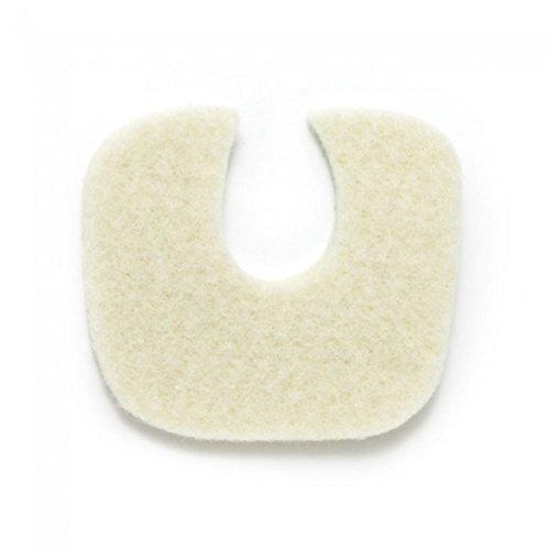 Aetna Felt Corporation 17309 Pads Toe Foam White 1/4'' 100/Bg