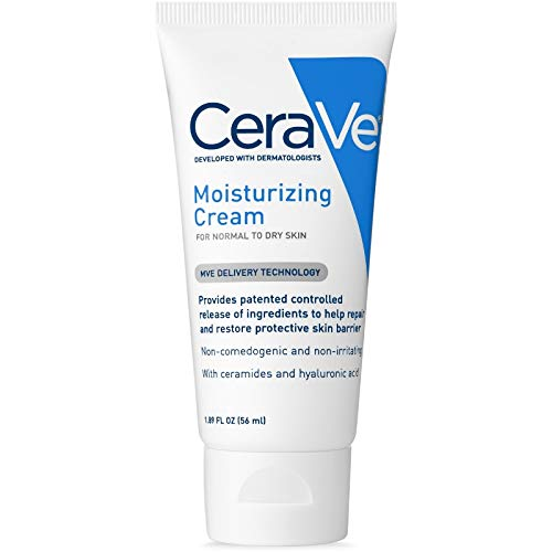 Cerave Moisturizing Cream For Normal To Dry Skin - 1.89 Oz ( Pack of 3 ) ()