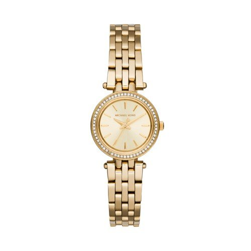 Michael Kors Women's Darci Gold-Tone Watch - Watch Michael Station Kors