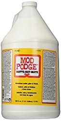 Mod Podge Waterbase Sealer, Glue & Finish (1-gallon), Cs11304 Matte Finish