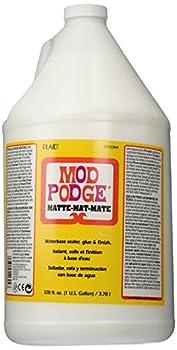 Mod Podge Waterbase Sealer, Glue & Finish (1-gallon), Cs11304 Matte Finish 0