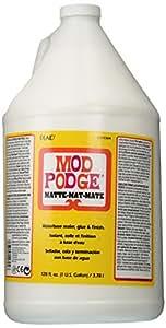 Mod Podge Waterbase Sealer, Glue and Finish (1-Gallon), CS11304 Matte Finish