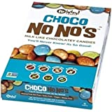 No Whey Foods - Choco No No's (12 Pack) - Vegan Chocolate Candy - Dairy Free, Peanut Free, Nut Free, Soy Free, Gluten…