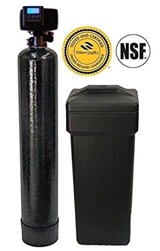 ABCwaters 48k-56sxt-10SS 10% Resin Water Softener, Black
