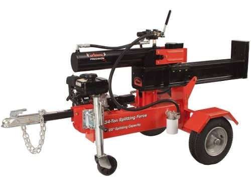 Log Splitter, 34 Ton, 25 In. Max. Log Dia. by Ariens