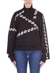 Damir Doma X Lotto Women S Cs1mw0063j180199 Black Cotton Sweatshirt