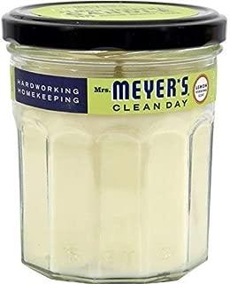product image for Mrs. Meyer's Soy Candle Lemon Verbena, 7.2 OZ