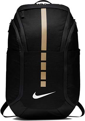 Nike Hoops Elite Hoops Pro Basketball Backpack,Black/Metallic Gold,One Size ()