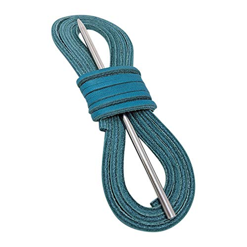 Boat Shoe Lacing Kit By TOFL (Teal) ()