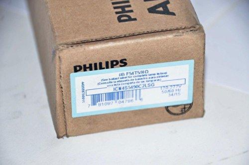 54WT5//HO NEW Philips Advance ICN4S5490C2LSG 4 Lamp T5 Ballast