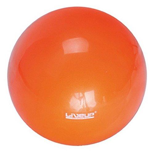 GYMNASTIQUE balle orange, PVC, 18cm / 280G