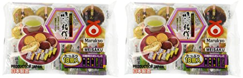 2 Bags Japanese Tea Cake Sampler (Assorted 5 Types)