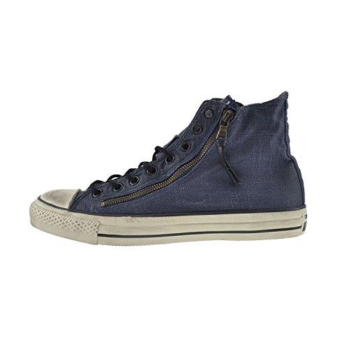 Converse All Star Ct Dobbel Zip Hi Menns Lerret Blekk / Beluga 150168c