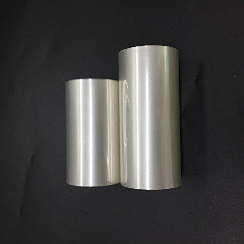 HUELE 2 Rolls Mousse Cake Collar Transparent Membrane Baking Surrounding Edge Tape Perimeter Decorating Acetate Sheet (Membrane Rolls)