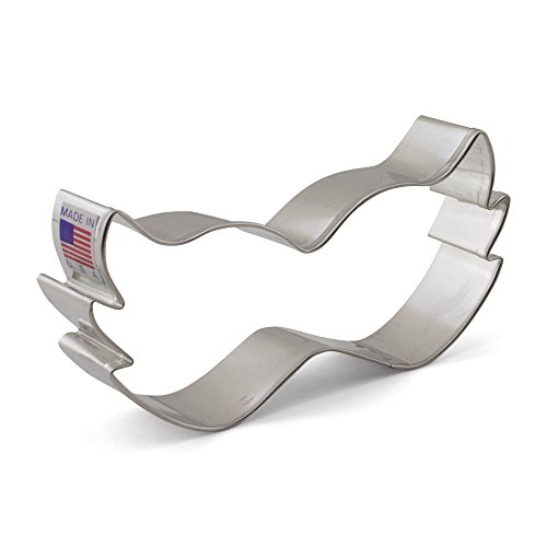 Mardi Gras / Costume Mask Cookie Cutter - Ann Clark - 4.5 Inches - US Tin Plated Steel