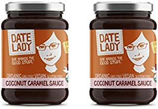 product image for Organic Date Coconut Sauce | Vegan, Paleo, Gluten-free & Kosher (2 Jars) | Use as a sugar substitute in coffee, on your pancakes or plain greek yogurt!