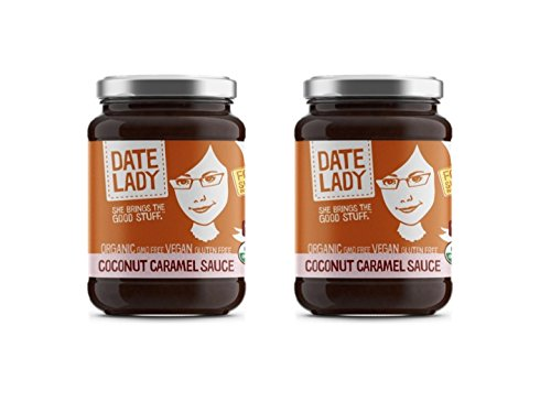 Date Lady Coconut Caramel, 2-pack | NO HFCS, ORGANIC, VEGAN, GLUTEN-FREE & KOSHER | For Coffee, Pancakes, Oatmeal (2 Pack)