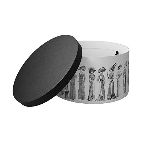 Nostalgia Cappelli Donna Bianco Estate inverno 37 Custodia Mcburn Cappelliera Accessori Cm OZ5TpwAKAq