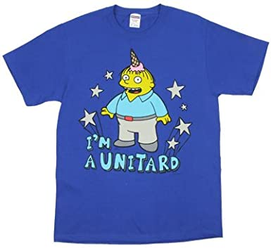 e603ced1 I'm A Unitard - Ralph Wiggum - Simpsons T-shirt | Amazon.com