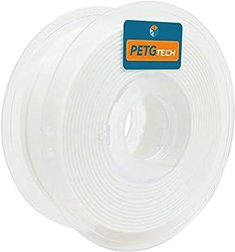 FFFworld 1 kg. PETG Tech Blanco 1.75 mm.: Amazon.es: Electrónica