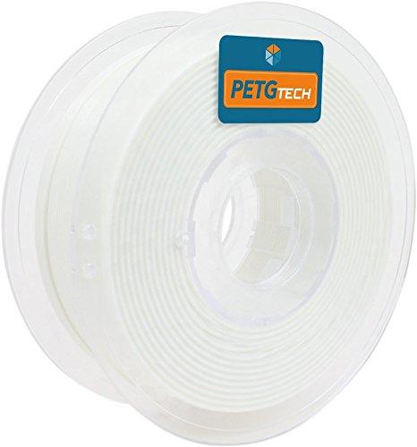 24 opinioni per PETG Tech 1kg. White 1.75 mm- Filamento PETG ad alte prestazioni per la stampa