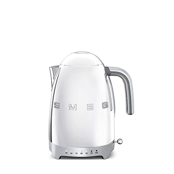 Smeg Variable Electric Kettle KFL04 SSUS, Polished Stainless Steel 1