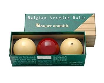 Super Aramith Traditional Juego Tres Canicas para billar sin buche ...