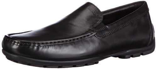 Geox Mens Mmonetw14 Mocassino Slip-on Nero
