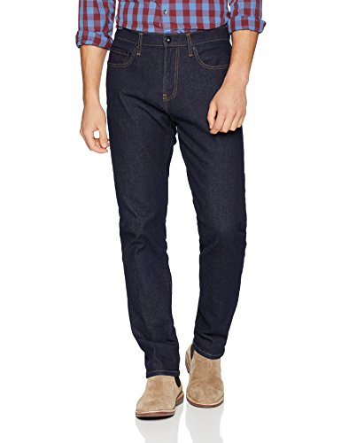 Goodthreads Men's Athletic-Fit Jean, Rinse/Dark Blue, 34W x 33L