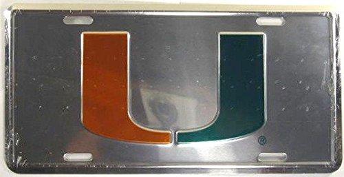 University Of Miami License Plate - University Of Miami License Plate Hurricanes The U L606