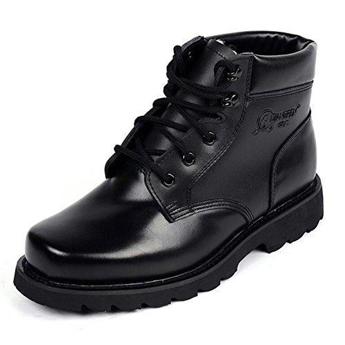 HQ Bottes pour hommes Chaud Coton Chaussures PU Arm