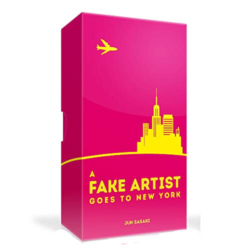 A Fake artist goes to New York board game