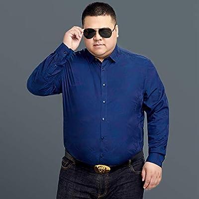 WYTX Camisas Camisa De Talla Grande Camisa Estampada De Manga Larga para Hombre Otoño E Invierno Más Camisa Informal Holgada De Talla Grande Gorda: Amazon.es: Deportes y aire libre