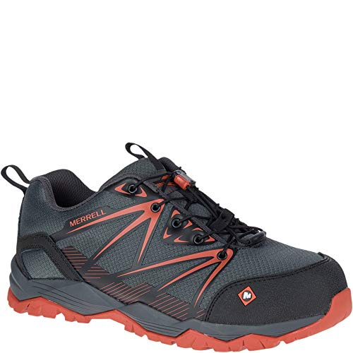 Toe Composite Shoes Work Oxford (Merrell Men's, Fullbench Composite Toe Work Shoes Granite 10.5 M)