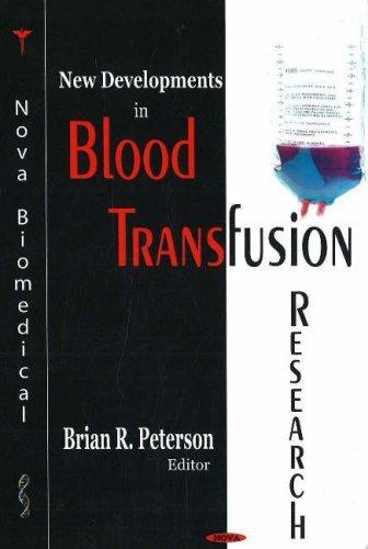 Download New Developments in Blood Transfusion Research pdf epub