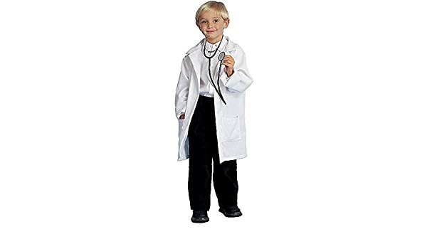 Child Doctor Deluxe Lab Coat Halloween Costume Size Medium 8-10 by ...