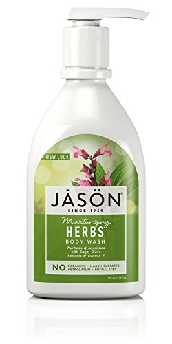 Jason 30 oz Moisturizing Herbs Pure Natural Body Wash - Herbal Moisturizing Shower Gel