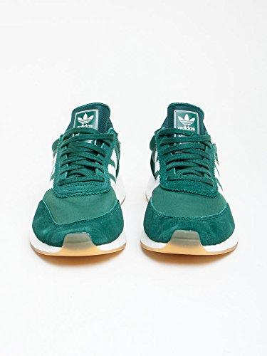 adidas Iniki Runner, Zapatillas de Deporte para Hombre Verde (Veruni/Ftwbla/Gum3)