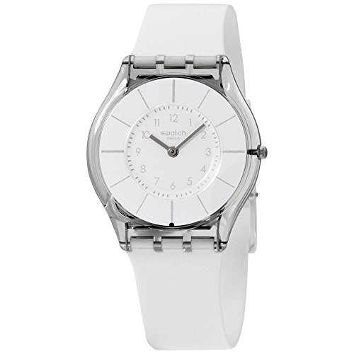 (Swatch WHITE CLASSINESS Ladies Watch SFK360)