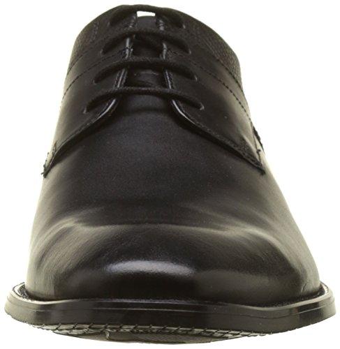 para Zapatos Black Cordones Hombre bugatti Negro Derby 1010 313521011000 de 7HqZpRX